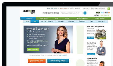 Successful test launch for Auction.com to B2B (real estate agents) and B2C audiences in the San Diego market to expand business beyond brokers.